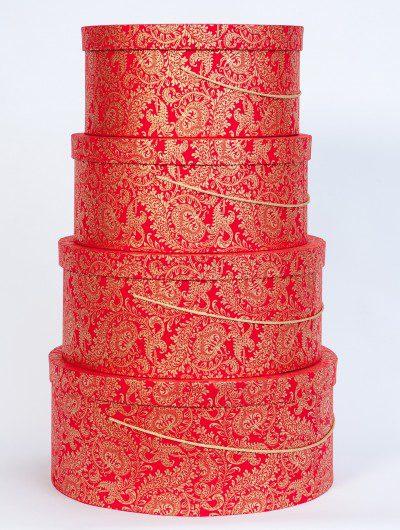 Handmade hat box red splendour are elegant, handmade and eco friendly.