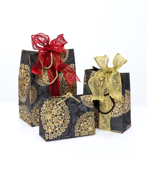 Gift gags black medallion is rich, elegant and eco friendly too