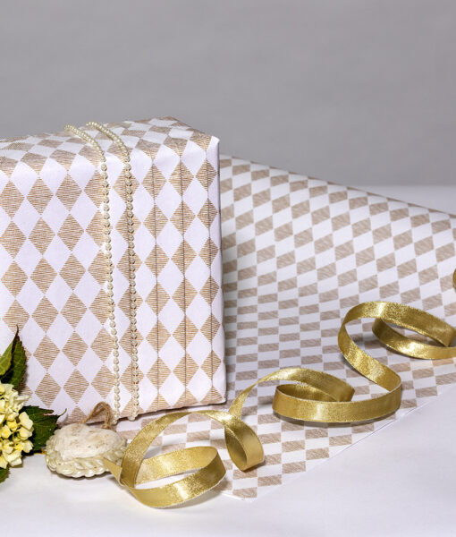 Handmade White Wrapping Paper