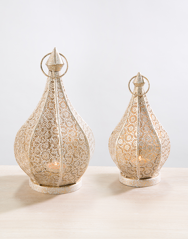 pointed moroccan lamps