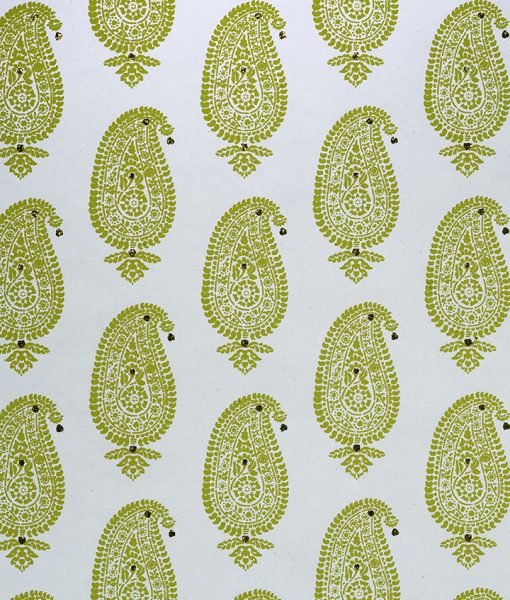 Wrapping paper Turquoise Paisley Motif is eco friendly and sustainable.