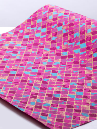 Wrapping paper pink jali is an eco friendly, sustainable and luxury gift wrap.