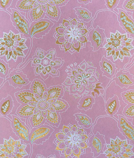 Handmade Pink Gift Wrap