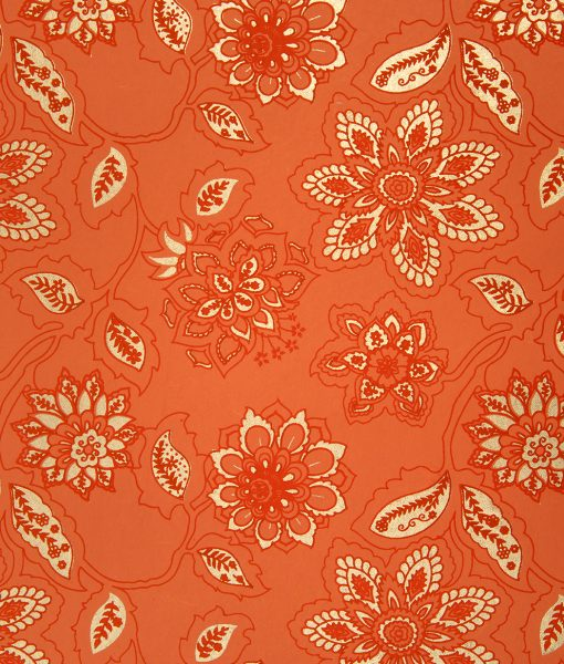 Handmade Tangerine Gift Wrap