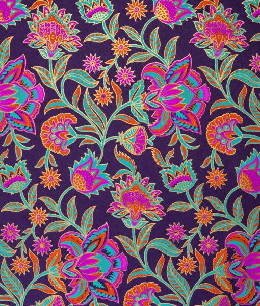Handmade Rubine & Purple Gift Wrap