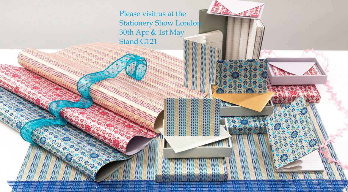 Stationery Show London 30th April to 1st May, Stand G121