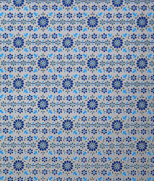 Wrapping paper blue daisy is eco friendly, sustainable and luxurious.