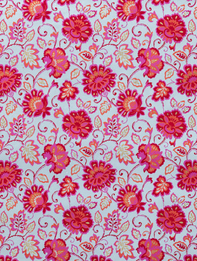 Wrapping paper gorgeous floral design is eco friendly and handmade
