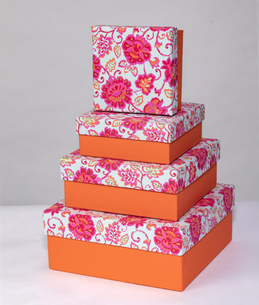 Gift boxes gorgeous floral are colourful, handmade and eco friendly.