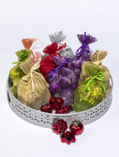 Our Mini Christmas decorations are most popular in the decorations range