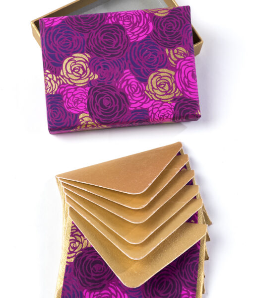 Note card crimson roses is beautiful, full of vibrant colours and eco friendly.