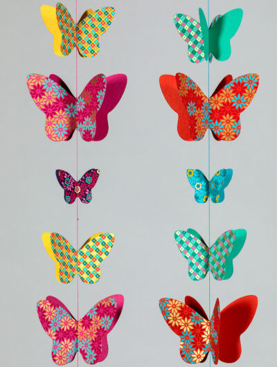 Butterfly mobiles are truly enchanting and fabulous as home decorations